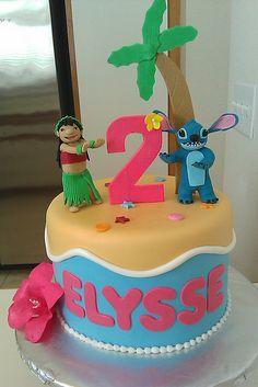 Lilo & stitch birthday cake