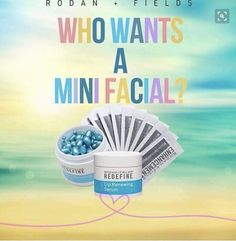 Intrigued? I'll send you a mini facial. Send your name and address to my email and I'll pop one in the mail for you! TeresaDunn.randf@yahoo.com