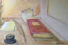 """Paradigma d'Arte  - Alberto Contestabile - """"Antica scrivania"""""""