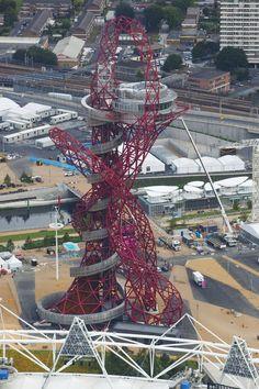 London 2012 Orbit by Anish Kapoor