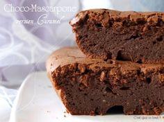 Choco mascarpone au caramel {recette gâteau au chocolat qui tue}