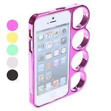 iphone 5 Knuckle case