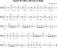 Angels We Have Heard on High Cello Sheet Music Christmas Piano Sheet Music, Easy Piano Sheet Music, Music Sheets, Free Sheet Music, Christmas Music, Cello Lessons, Tenor Sax, Partitions, Music Score