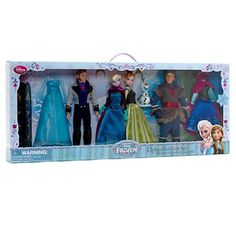 Disney Store - Frozen Deluxe Fashion Doll Set: Amazon.co.uk: Toys & Games
