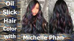 oil slick hair color michelle phan - Google-søk