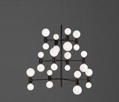 Aballs chandelier 12 de PARACHILNA | Lustres suspendus