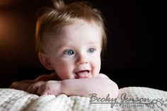 Baby in natural light
