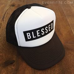 db767521edd BLESSED Trucker Hat - Women s ONE SIZE baseball hat summer hawaii funny hat  (21.00 USD) by everfitte