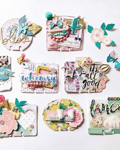 "Gabby :) on Instagram: ""Here are some of the memorydex cards I own. Some of them have been sent to me by my beautiful and talented friends and some I created... I…"" Mini Scrapbook Albums, My Scrapbook, Bullet Journal Mood Tracker Ideas, Project Life, Art Trading Cards, Fun Fold Cards, Handmade Tags, Crate Paper, Candy Cards"