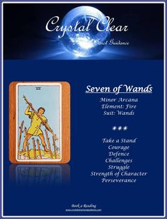 Crystal Clear Tarot Guidance supports healing and spiritual transformation. You can heal your life with Tarot!