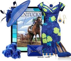 """""""Kentucky Derby"""" by amo-iste on Polyvore"""