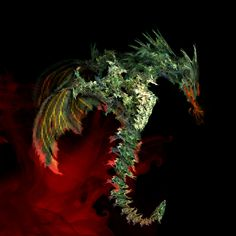 dragon fractal art | Fractal Dragon by daftopia on DeviantArt