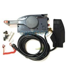 OVERSEE remote control box 703-48203-17 With 7 Pin Cable For Yamaha Outboard Remote Control Assy