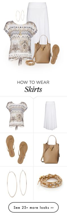 """""""Where did summer go?"""" by terry-tlc on Polyvore featuring Tkees, La Stampa, Wallis, Oscar de la Renta, Michael Kors, Privileged and Chan Luu"""