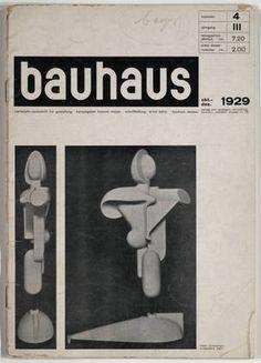 Herbert Bayer. Bauhaus: Vierteljahr-Zeitschrift für Gestaltung, October-December 1929, number 4, year 3. 1929