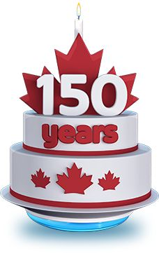 Image result for 150 anniversary canada cake