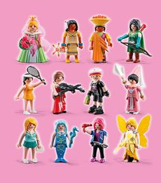 Serie 5 Playmobil Barbie Dolls Diy, Diy Doll, Girls Series, Lego, Miniature, Toys, Sydney, Cute, Fictional Characters