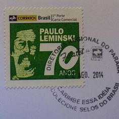Prefeitura de Curitiba e Correios lançam o selo comemorativo dos 70 anos do poeta curitibano.