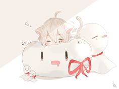 on Insta - anime Chibi Kawaii, Manga Kawaii, Chibi Boy, Loli Kawaii, Kawaii Anime Girl, Anime Neko, Cute Anime Chibi, Cute Anime Boy, Anime Guys