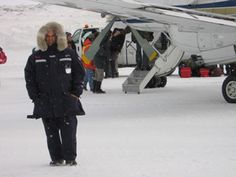 Propair pilot in the Canadian Arctic wearing the Vostok parka Arctic Explorers, Antarctica, Cold Weather, Canada Goose Jackets, Parka, Pilot, Winter Jackets, Snow And Ice, Winter