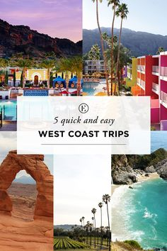 5 Weekend Road Trips for West Coast Girls Welcome to a new travel series! We'll be highlighting amazing cities and adventures just out your back door. We'll start by covering each California Getaways, California Travel, Weekend Trips, Weekend Getaways, Texas Getaways, New Travel, Travel Usa, Places To Travel, Places To Go