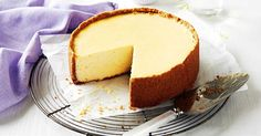 Serve up a much-loved favourite with this classic baked New York cheesecake.
