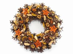 Natural Wreath, Christmas Wreath, Winter Decorations, Pinecone Wreath, Xmas wreath,  Front Door Decoration,  Hand Made Christmas decor,