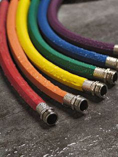 I want purple of course! - Rubber Hose, Colorful Garden Hoses, Water Hoses | Gardener's Supply
