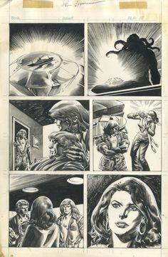 Rampaging Hulk #1 page 54 BLOODSTONE Comic Art