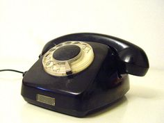 Rotary Telephone from 1965. by AMUARA on Etsy