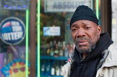 Mr Bishop: Hunts Point, Bronx by Chris Arnade, via Flickr. Stories of addiction through photography.