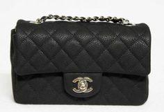 Chanel Caviar Leather Mini- wishlist