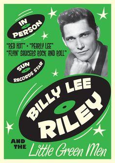 Billy Lee Riley, rockabilly musician. Riley began picking cotton ...