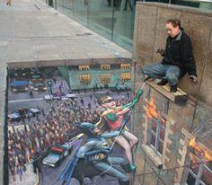 Sidewalk Art Masterpieces