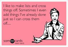 I so do this!!!  ☺️