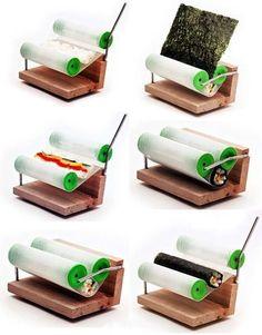 Simple automatic sushi maker. . .yumm