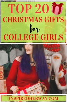 The best Christmas gifts for college students! These Christmas gifts for college girls are perfect for college daughters or granddaughters who are home for the holidays!