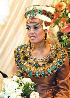 Wedding Destinations: Egyptian Wedding Dress, A Tradition From Ancient Culture