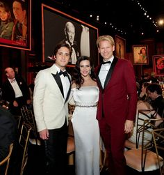 MGM Special Guests Diego Boneta and Cleo Pires at the AFI Life Achievement Award Jane Fonda 2014