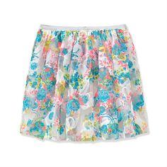 Rum Girls Fashion! Printed  lace Foral Tutu Skirt.