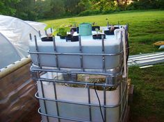 Ron Foust Sets Up A Home Aquaponics Growing System