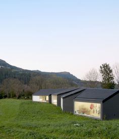 U-House is a minimalist residence located in Cantabria, Spain, designed by Estudio MAPAA