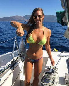 jannabreslin 9 11 2017 11 7 42 822 Einstein said: E=BeersBabesBurgers Photos) Einstein, Corpo Sexy, Funny Fishing Shirts, Fishing Girls, Women Fishing, Fishing Stuff, Fly Fishing, Bikini Fishing, Fishing Hole