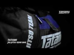 Tatami Fightwear Jiu Jitsu Gear Bag - Combo Sports   #combosports