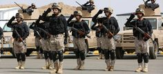 "ISIS SETS IT'S SIGHTS ON SAUDI ARABIA AND THAT'S BAD FOR WASHINGTON - Royal Saudi Land Forces and units of Special Forces of the Pakistani army take part in a joint military exercise called ""Al-Samsam 5"" in Shamrakh field, north of Baha region, southwest Saudi Arabia, Monday, March 30, 2015."