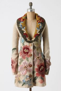 Love this coat from Anthropologie.  Evidently it's no longer available. : (