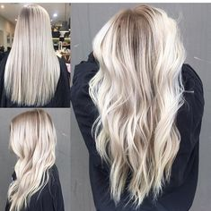 Are you looking for best hair colors to apply for long hair? Just see here, we have made a collection of fantastic long balayage colored hairstyles Long Curly Hair, Curly Hair Styles, Look 2017, Pinterest Hair, Great Hair, Gorgeous Hair, Balayage Hair, Hair Looks, Dyed Hair