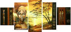 Gallery.ru / Фото #1 - 28 - TATO4KA6 African Art, Needlepoint, Mona Lisa, Cross Stitch, Painting, Artworks, Stitching, Crochet, Baby