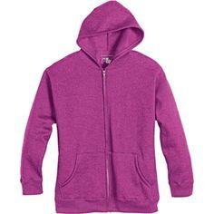 Just My Size by Hanes Women's Plus-Size Eco-Fleece Zip Hoodie Jacket