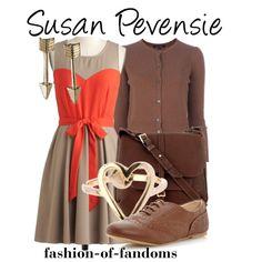 """""""Susan Pevensie"""" by fofandoms on Polyvore"""